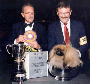 1990 Westminster BIS Ch. Wendessa Crown Prince