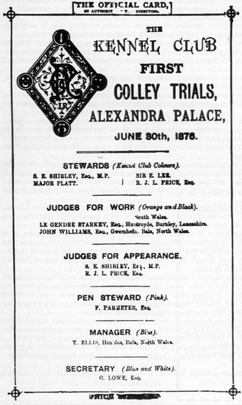 1876 Alexandria Sheep Trial and Pageant.